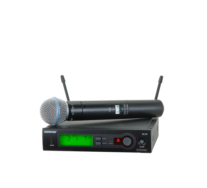 SLX24/BETA58 Wireless Handheld System (Freq: G5)