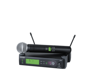 SLX24/SM58 Wireless Handheld System (Freq: G5)