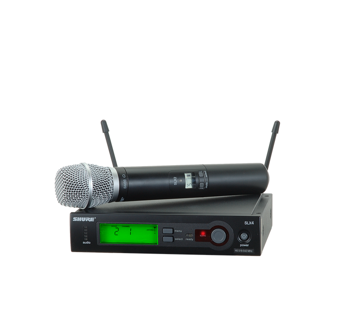SLX24/SM86 Wireless Handheld System (Freq: G5)