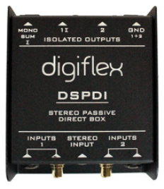 Stereo Passive DI Box -Dual Channel