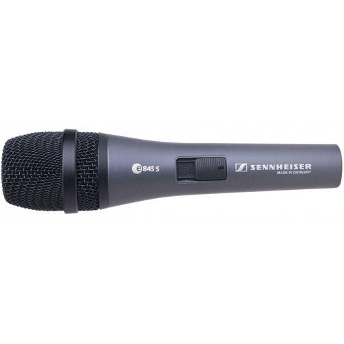 E845-S Dynamic Super-Cardioid Microphone w/ Switch