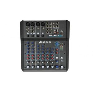 MultiMix 8 USB FX 8-Channel Mixer w/ Effects