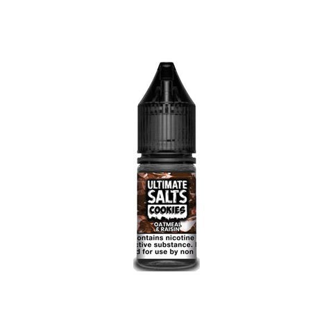 20mg Ultimate Salts Cookies 10ML Flavoured Nic Salts (50VG/50PG) - vapingdeviluk