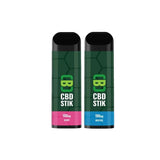 CBD Asylum CBD Stik 100mg Disposable Vape Pen - vapingdeviluk