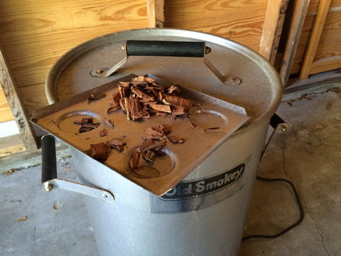 how to set up electric smoker