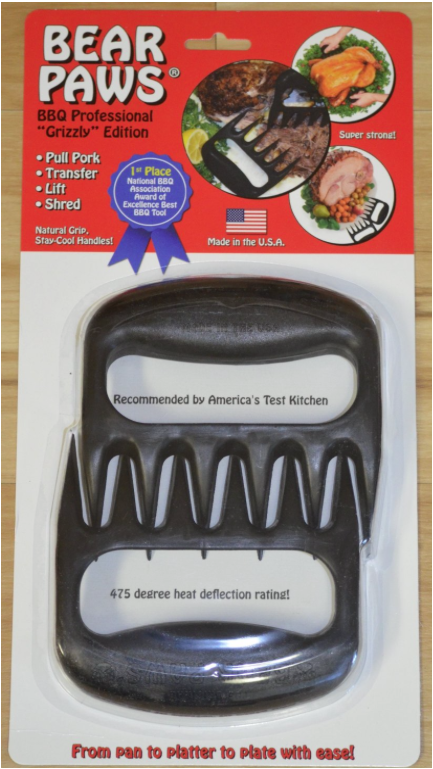 Old Smokey Products Company Bear Paw Meat Handlers