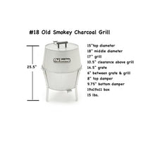 Load image into Gallery viewer, #18 Old Smokey Charcoal Grill