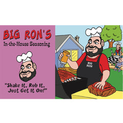 Big Ron's In The House Seasoning