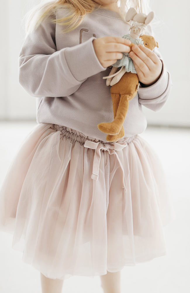 Soft Tulle Skirt - Blush
