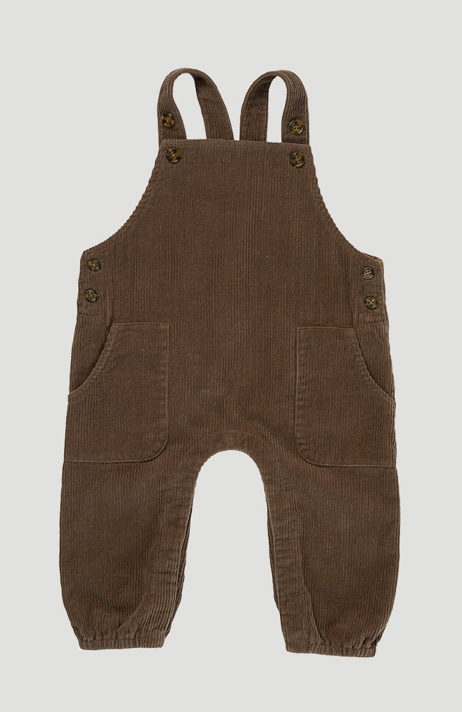 Spencer Romper - Walnut