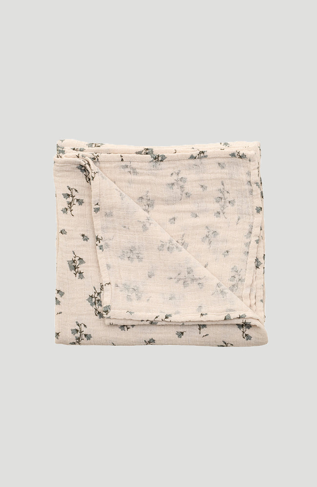 Muslin Swaddle Blanket - Bluebell
