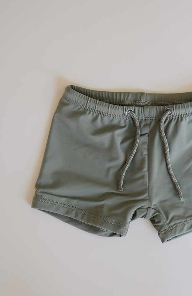 UV Bathing Shorts - Jade