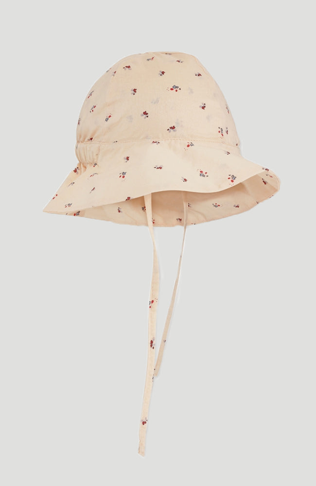 Pilou Baby Sunhat - Bloom red/blue