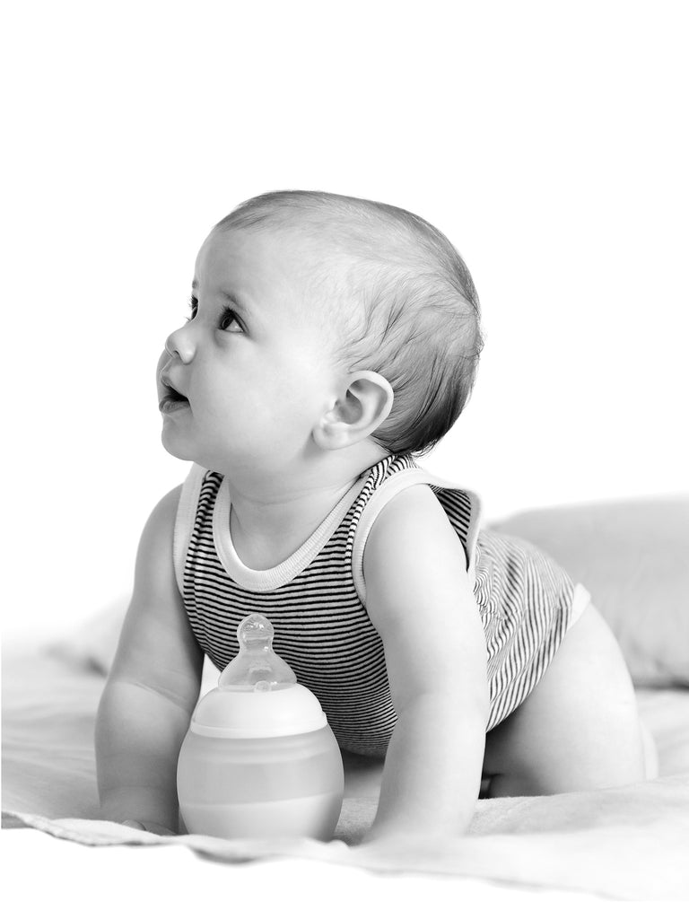 Natural Baby Bottle - Nude