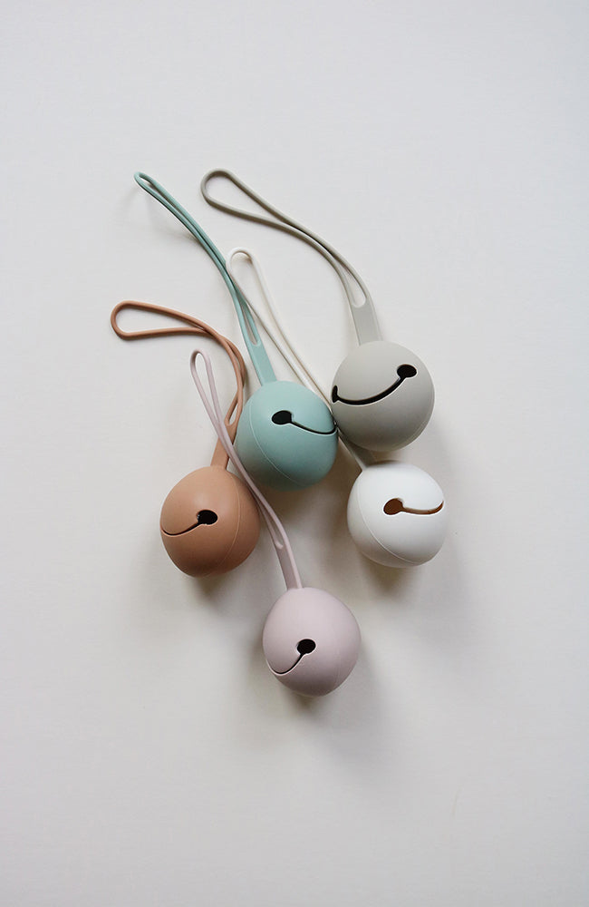 Pacifier Case - Light Taupe