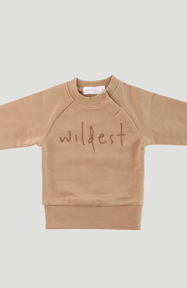 Wildest Sweatshirt - Mocka