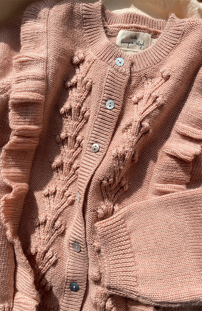Sienna Cardigan - Rose Blush
