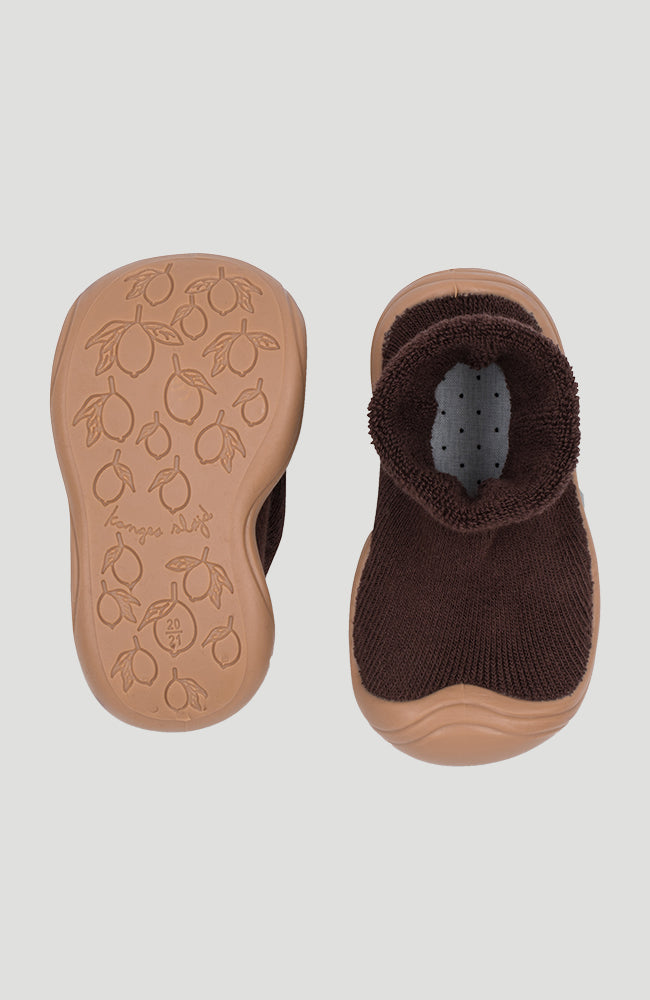 Sock Slippers - Mocca