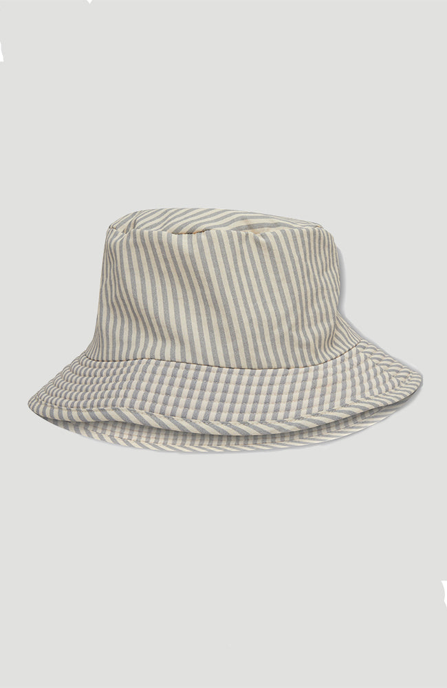 Aster Bucket Hat - Light Blue Stripe