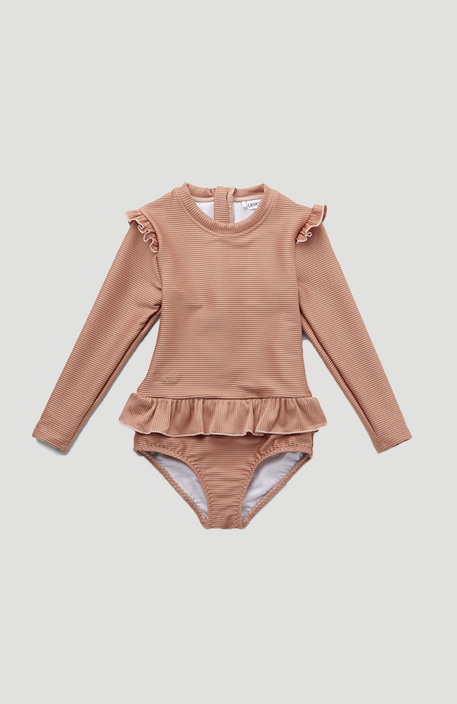 Sille Swim Jumpsuit Structure - Tuscany Rose