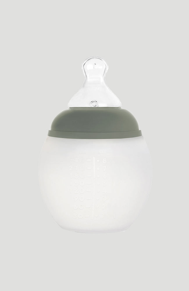 Natural Baby Bottle - Khaki