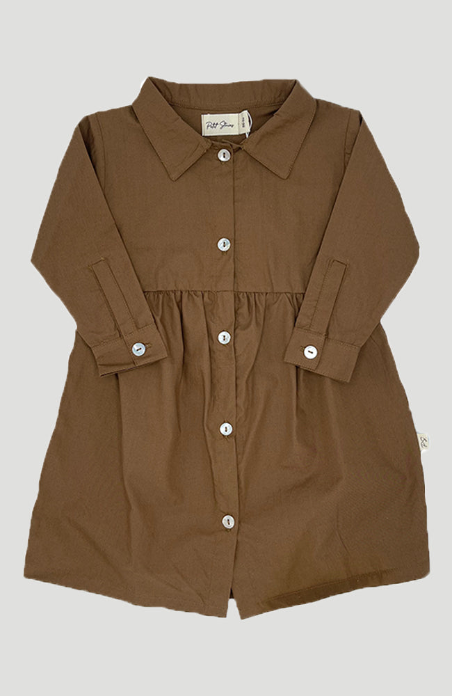 Shirt Dress - Partridge