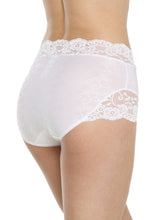 Load image into Gallery viewer, Arianne Stacy Full Brief (White)