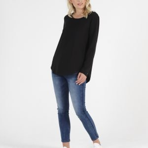 Betty Basics Megan Long Sleeve Top