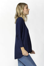 Load image into Gallery viewer, Betty Basics Milan Top (navy)