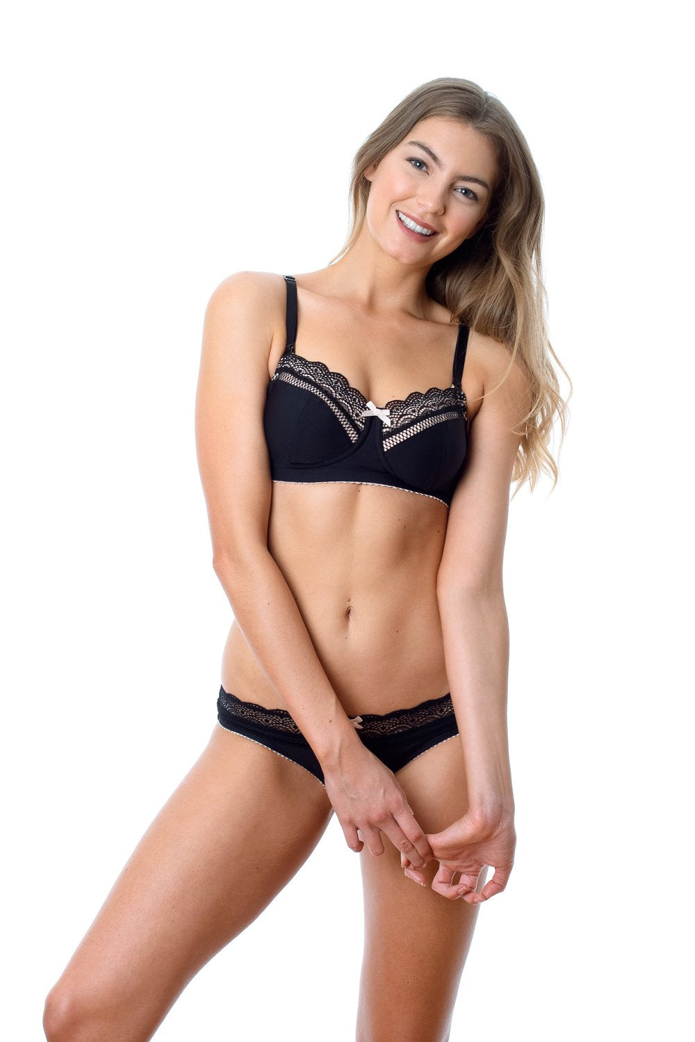 Hotmilk - Show off maternity / Nursing bra (JET BLACK )