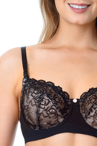 Hotmilk -  Temptation  Maternity /  Nursing bra (Black)