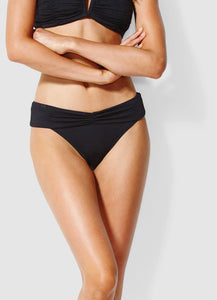 Seafolly Twist Band Hipster Pant (black)