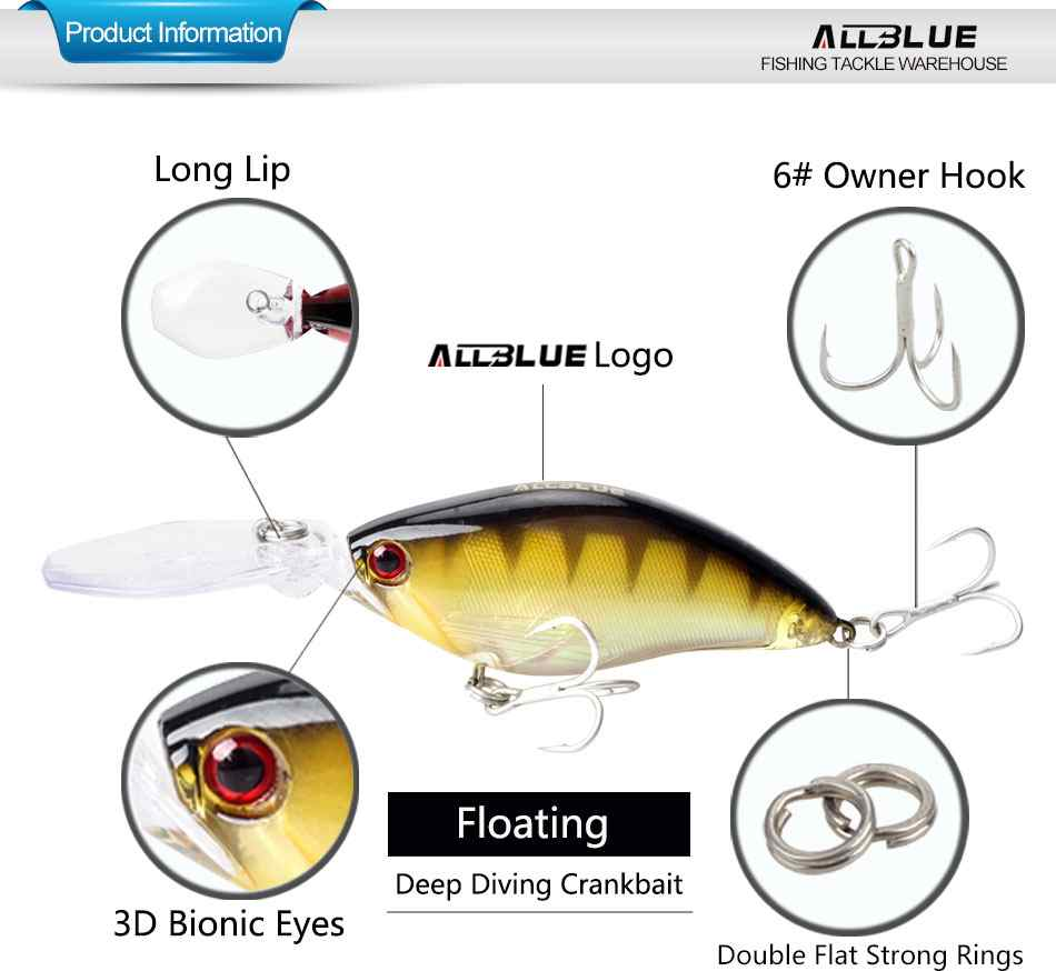 ALL BLUE Fishing Lures for fishing