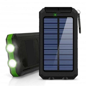 2020 New Mobile Solar Power Bank Charger With Dual USB Port For SmartPhones - primeroar