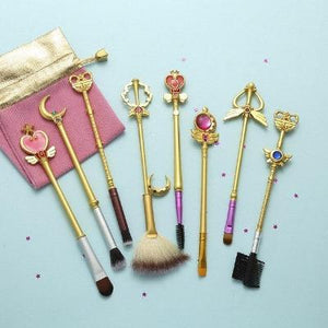 8 Sailor Moon Makeup Brushes Anime Periphery Birthday Holiday Gifts - primeroar