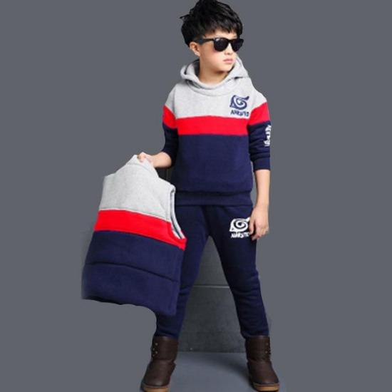 Baby Boy Girl Autumn Clothes Set Toddler Kids Clothing Cartoon Printed Long Sleeve Girl Coat Pants 2 Pcs/set 4 6 8 10 12 Years - primeroar
