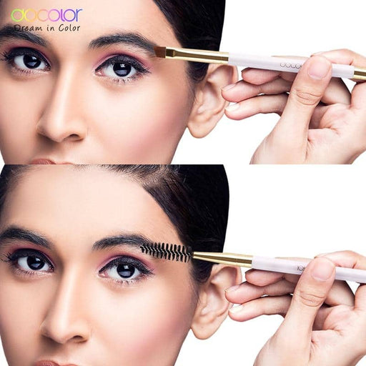 Docolor  Eyebrow Brush+Eyebrow Comb beauty eyebrow brush professional makeup brushes for eye Brow Brush blending eye - primeroar
