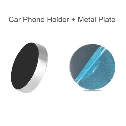 Magnetic Car Phone Holder Dashboard Magnet Cell Phone Stand Steering Wheel Holder Magnetic Wall Holder for iPhone Samsung Xiaomi - primeroar