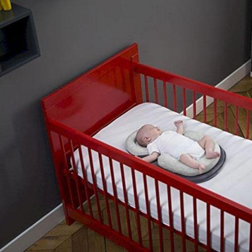 New Born Baby Travel Crib Bed With Stereotypes Pillow Adjustable position Cradle Cot Light Weight  0-10 Month - primeroar