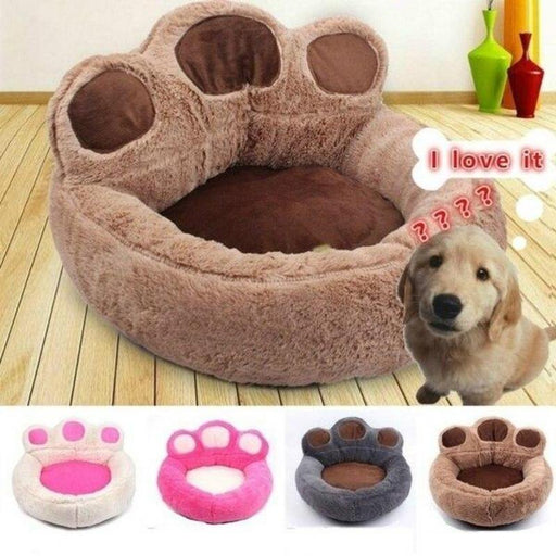 Oxford Cloth Smart Durable Design Bed For Cat And Dog In Bed Winter Warm Round Shaped With Removal Mat - primeroar