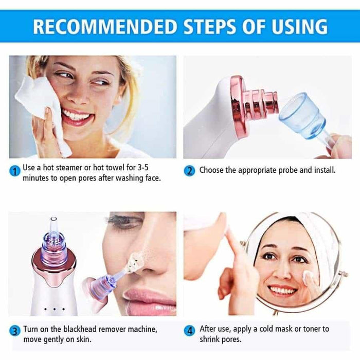 Pockmark Zit Removal Acne Spot Skin Rejuvenation Treatment Repairing Vacuity Device - primeroar