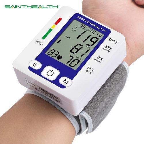 Saint Health Care Most Accurate Best Wrist Digital Home Blood Pressure Monitor Meters 2020 - primeroar