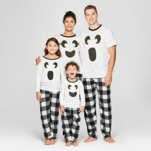 Christmas Family Pajamas Set Christmas Clothes Parent-child Suit Home Sleepwear New Baby Kid Dad Mom Matching Family Outfits - primeroar