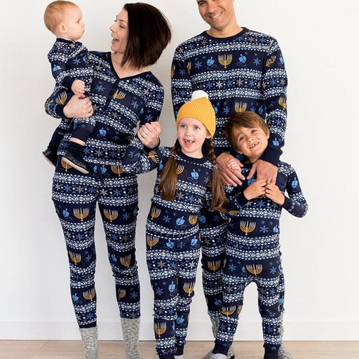 Christmas Parent-child Pajamas Family Nightwear Clothes Matching Long Sleeve Autumn Pyjamas Sleepwear Winter Xmas Overalls Wear - primeroar