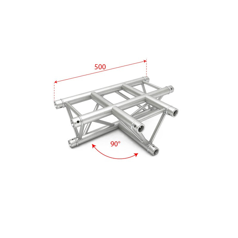 F34 Triangle Truss - 3 Way T Horizontal Junction