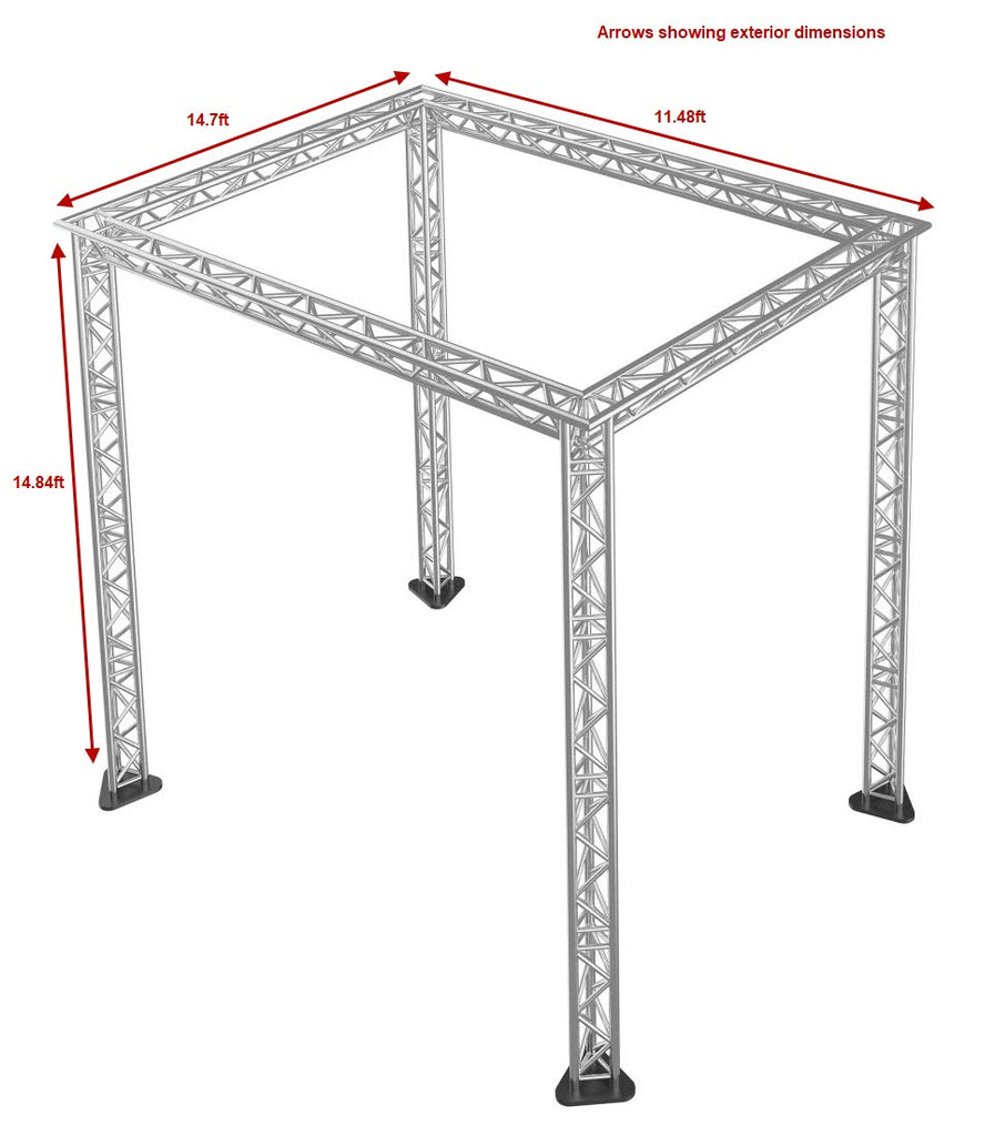 Trussing for Stage Packages – 14.84 ft High