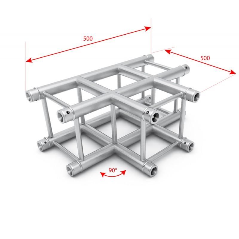 F34 Square Box Truss - 3 Way T Junction