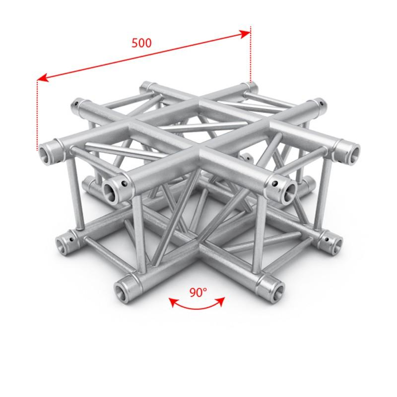 F34 Square Box Truss - 4 Way Cross Junction