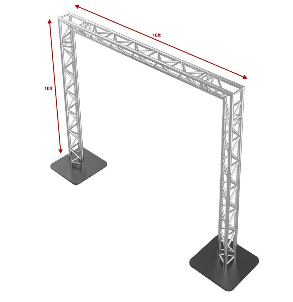 GOALIE POST 10FT X 10FT Square Truss Package