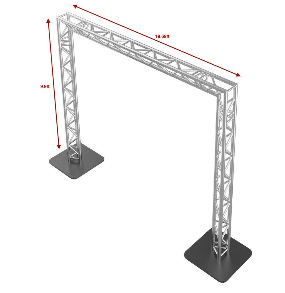 GOALIE POST 20FT X 10FT Square Truss Package